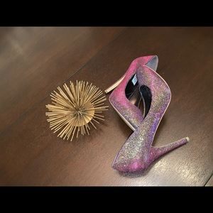 RSVP Glitter pumps, sparkling pumps, heels, pumps
